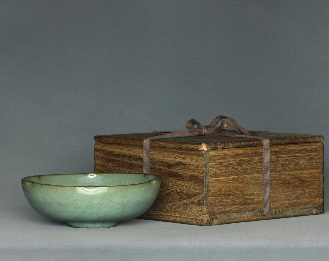 A Guan-Kiln Brush Washer Southern Song Dynasty. With