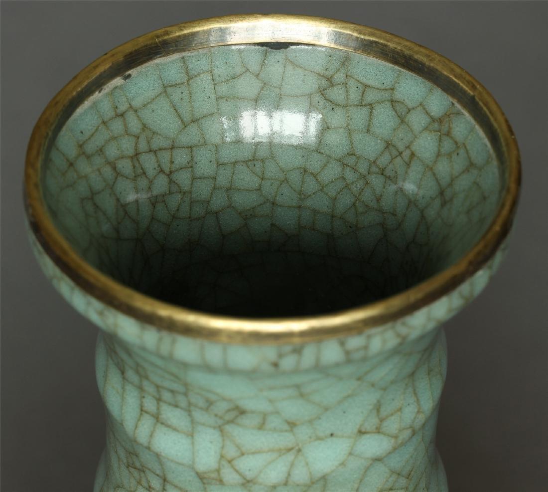 A Guan-Kiln Vase Southern Song Dynasty. - 4