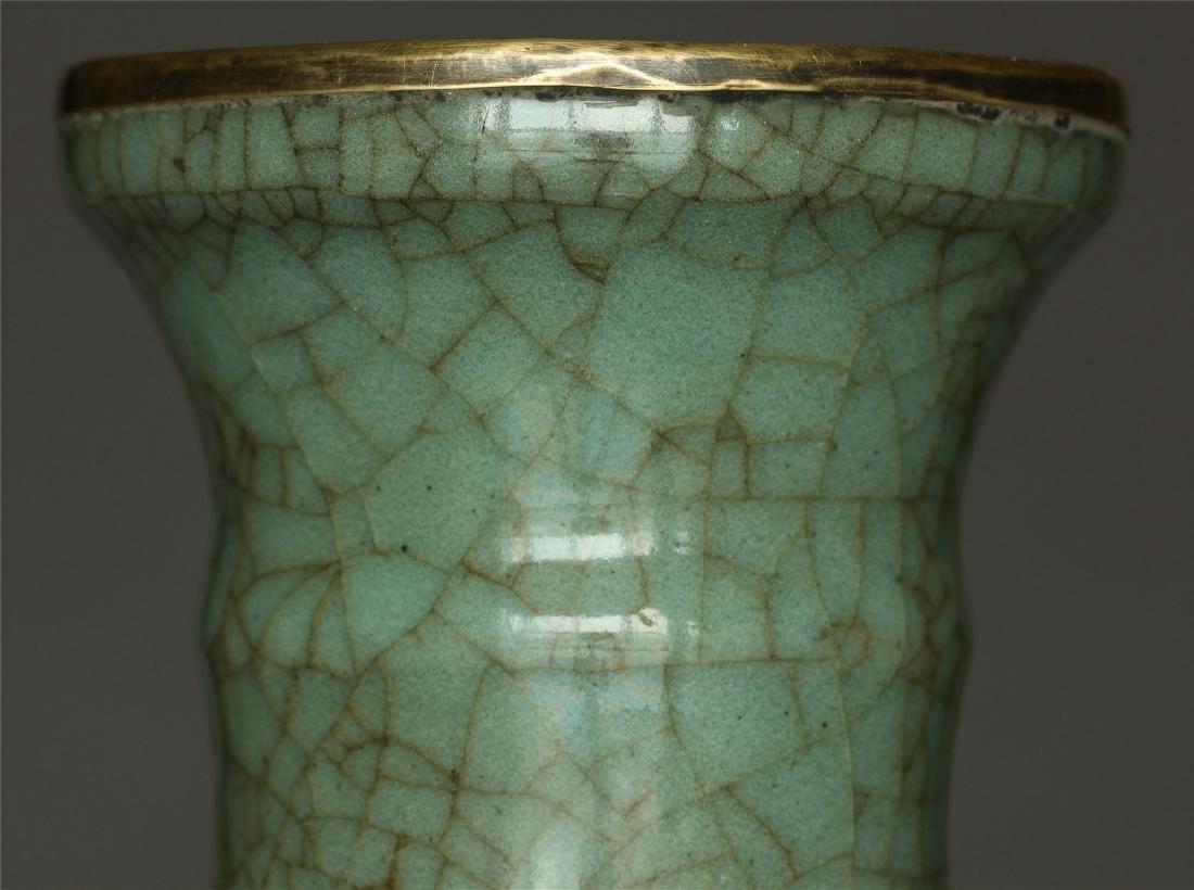 A Guan-Kiln Vase Southern Song Dynasty. - 5