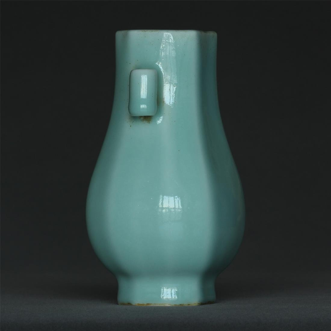 Blue glaze porcelain vase of Qing Dynasty QianLong - 5
