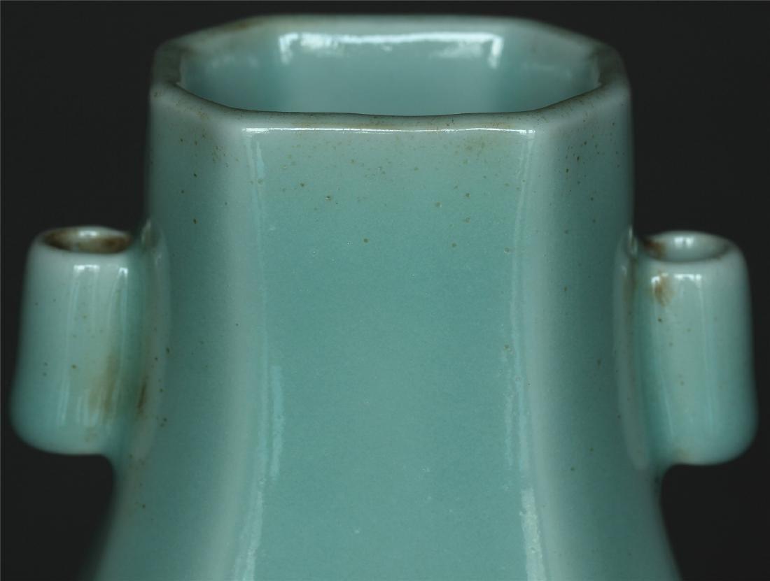 Blue glaze porcelain vase of Qing Dynasty QianLong - 6