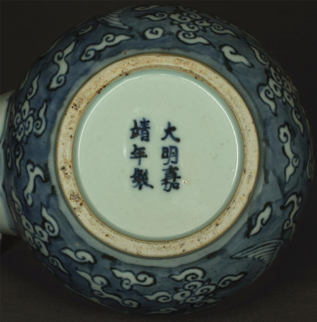Blue and white porcelain pot of Ming Dynasty JiaJing - 2