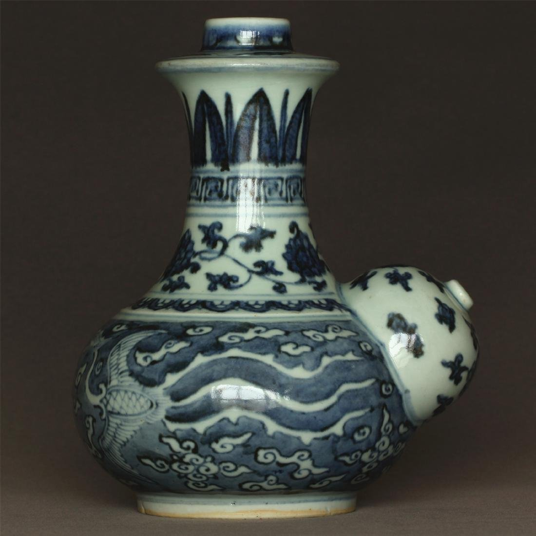Blue and white porcelain pot of Ming Dynasty JiaJing - 3