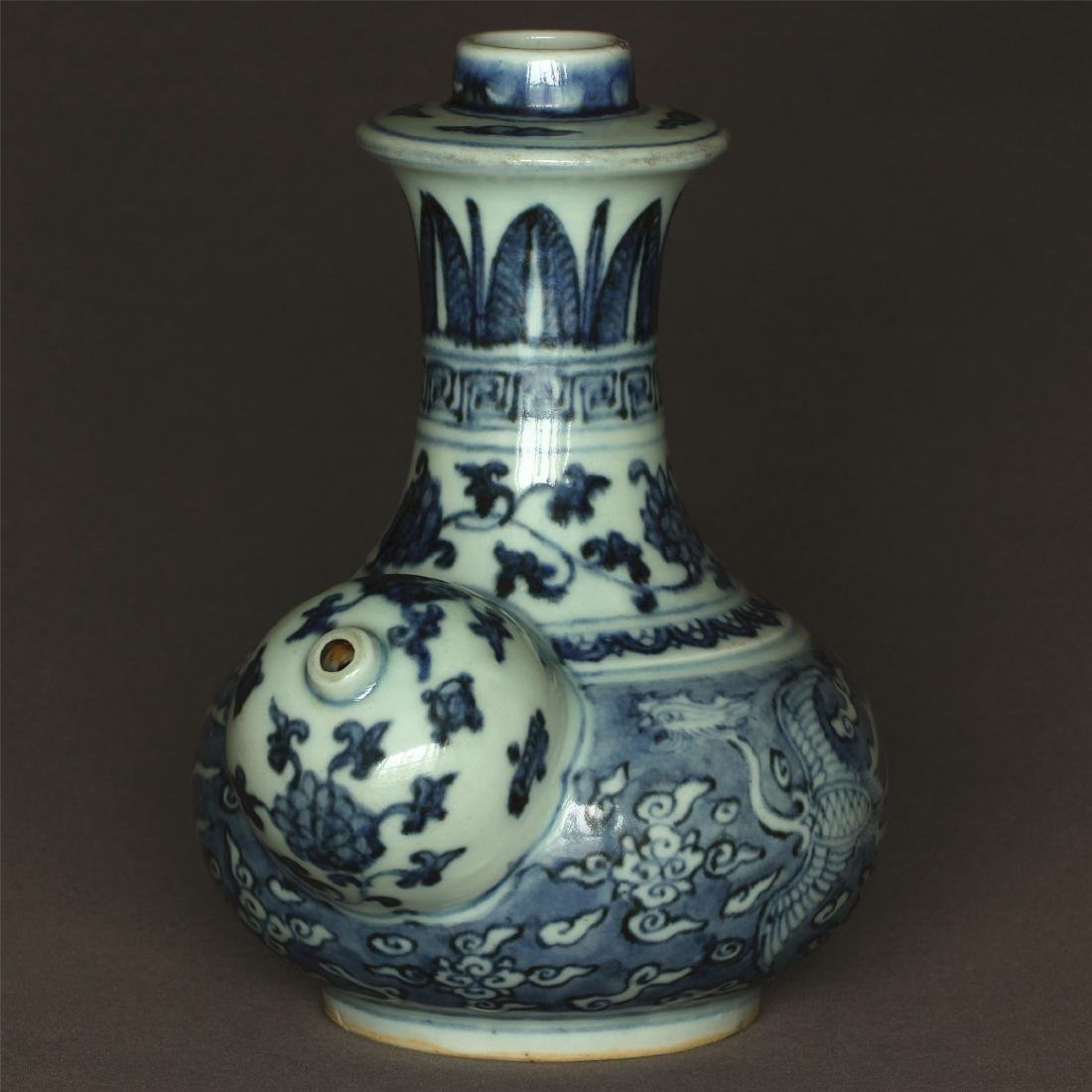 Blue and white porcelain pot of Ming Dynasty JiaJing - 4