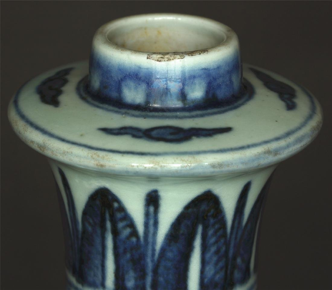 Blue and white porcelain pot of Ming Dynasty JiaJing - 5