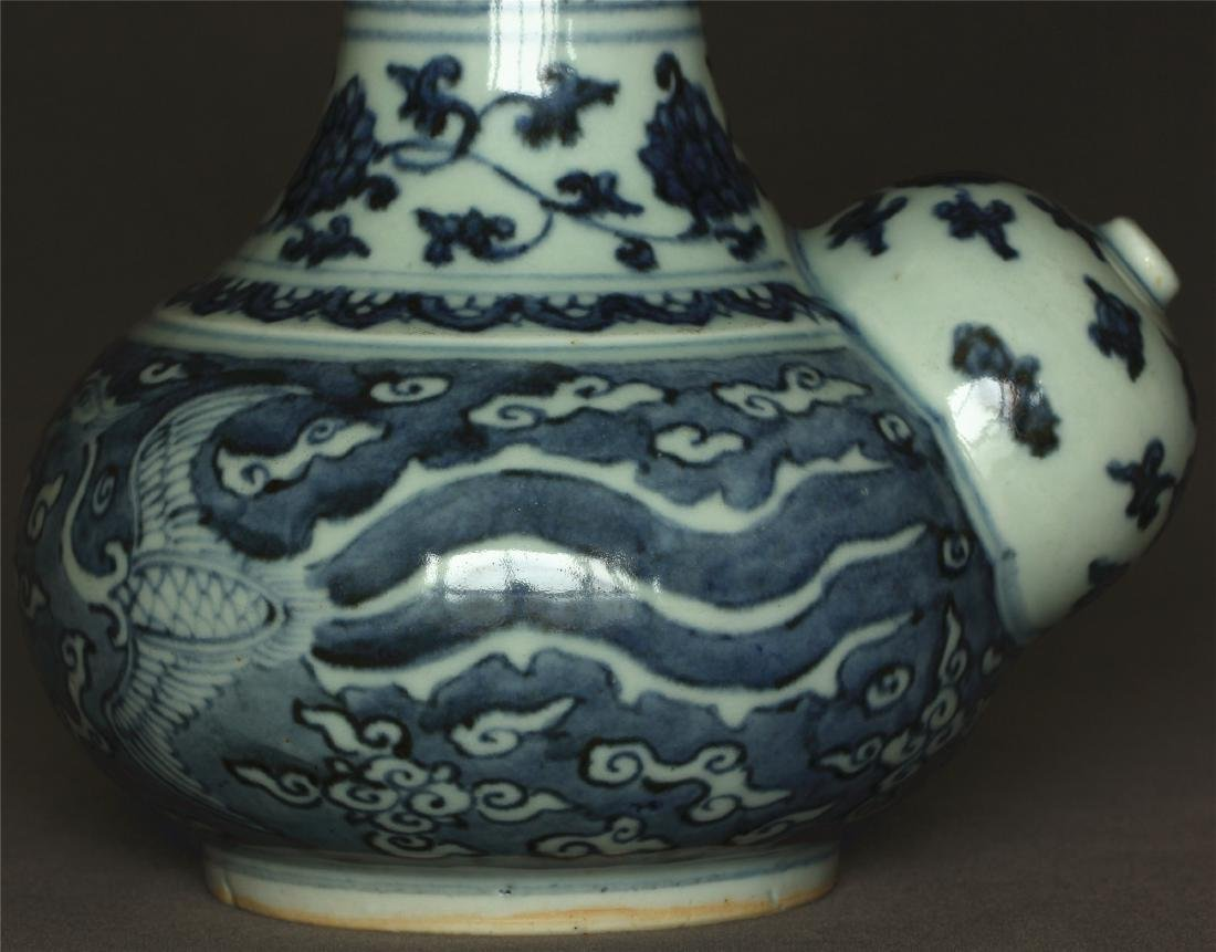 Blue and white porcelain pot of Ming Dynasty JiaJing - 6