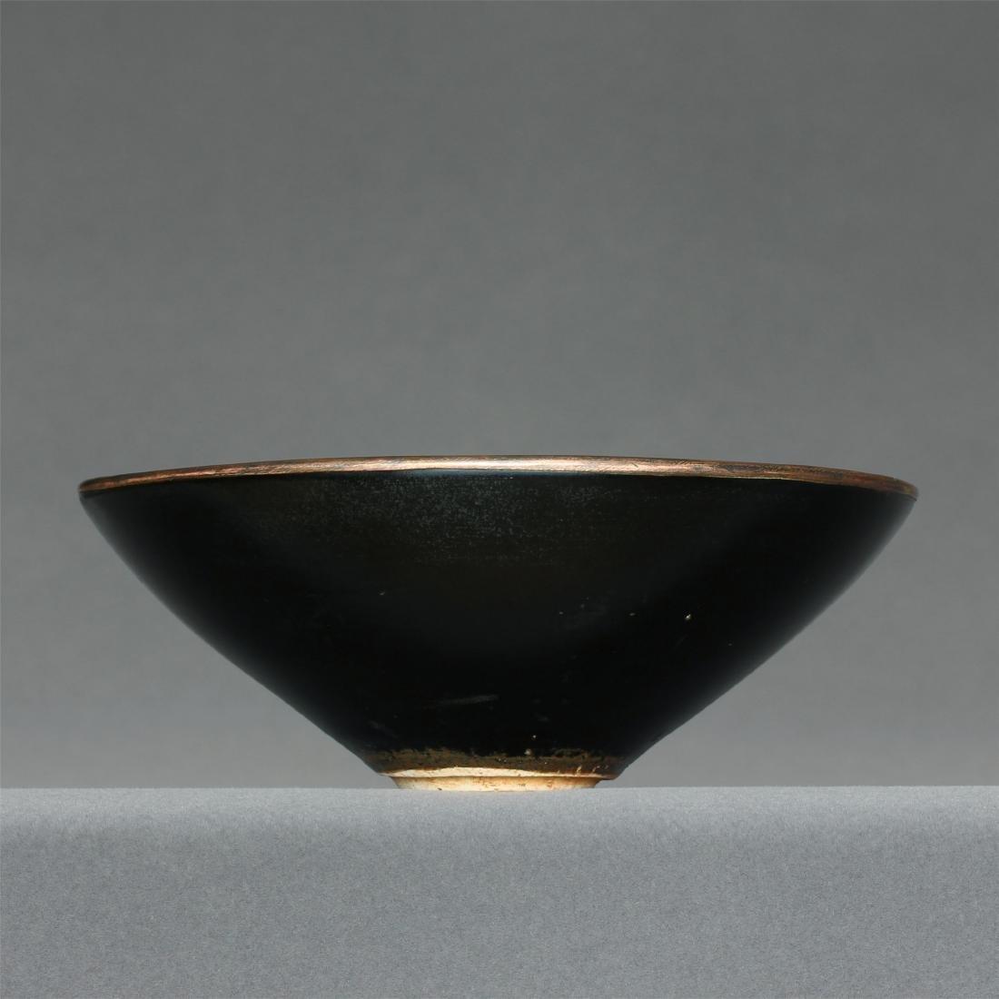 A JiZhou-Kiln 'Tree Leaf 'Bowl Southern Song Dynasty. - 3
