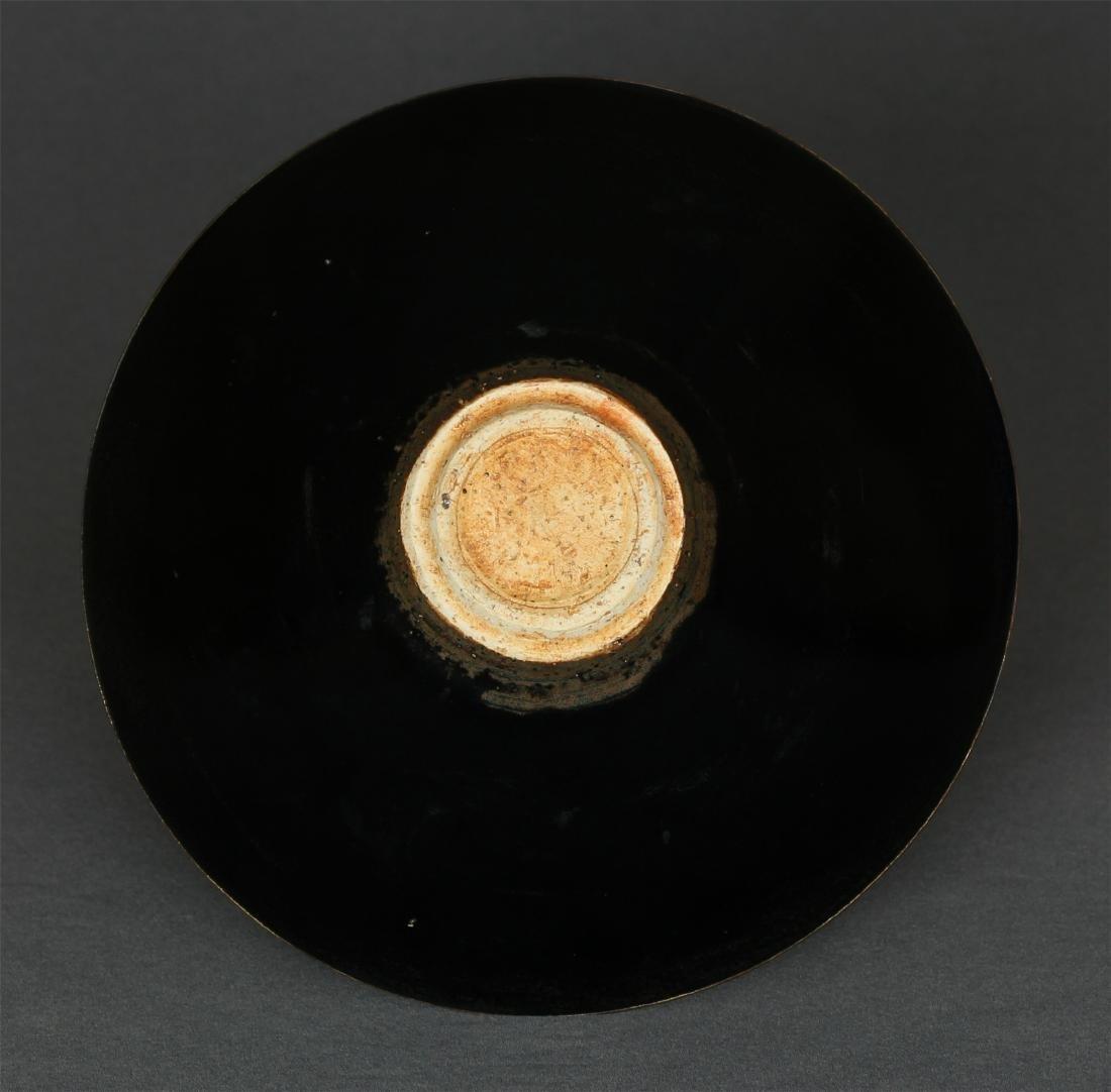 A JiZhou-Kiln 'Tree Leaf 'Bowl Southern Song Dynasty. - 6