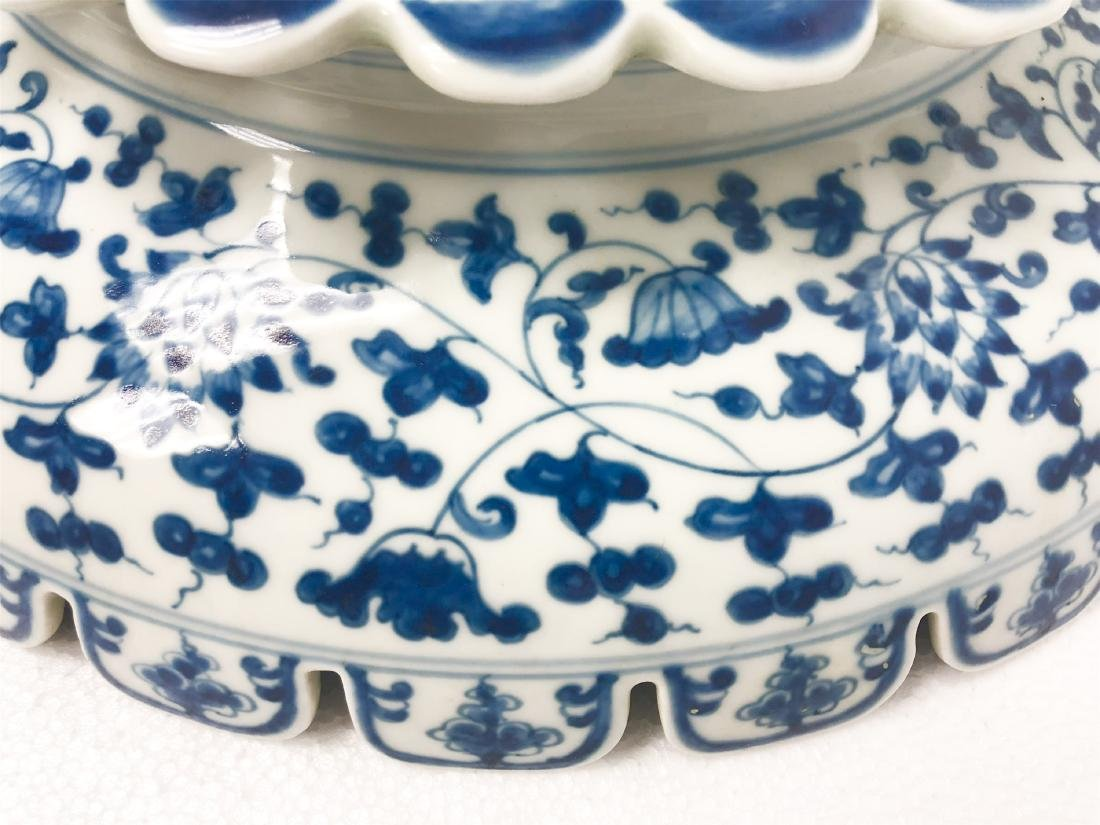 Blue and white porcelain bowl of Ming Dynasty ChengHua - 10