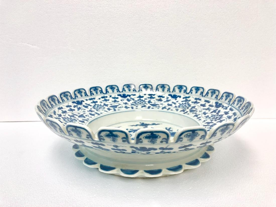 Blue and white porcelain bowl of Ming Dynasty ChengHua - 3