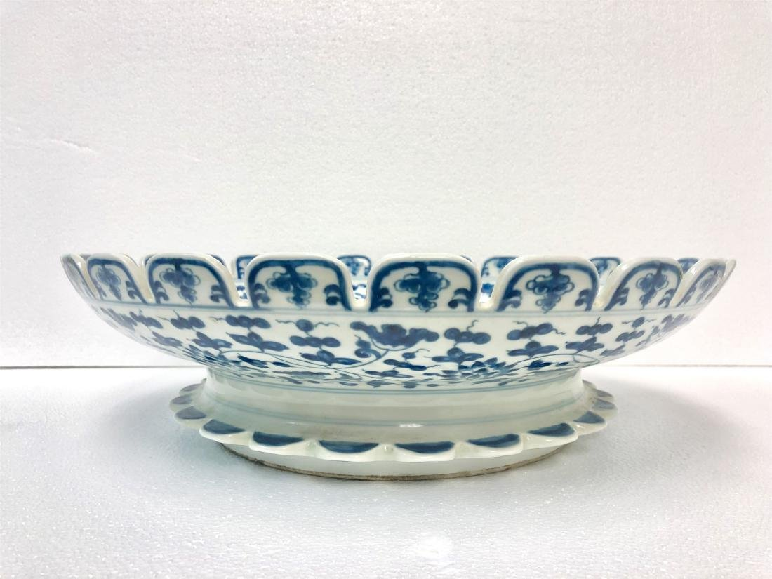 Blue and white porcelain bowl of Ming Dynasty ChengHua - 4