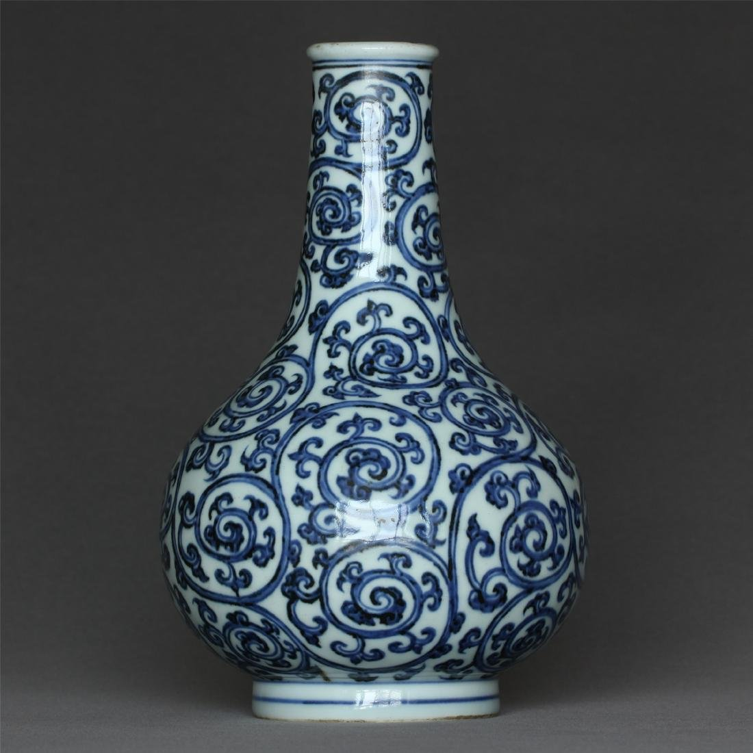 Blue and white porcelain vase of Ming Dynasty XuanDe - 3