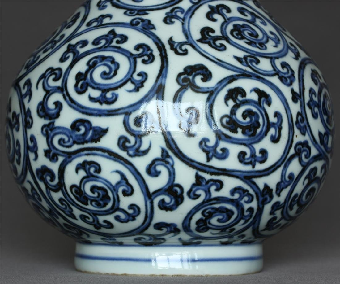 Blue and white porcelain vase of Ming Dynasty XuanDe - 6