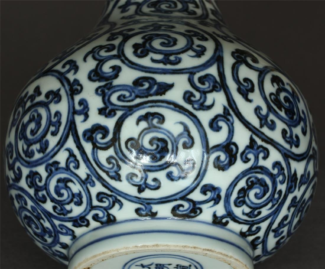 Blue and white porcelain vase of Ming Dynasty XuanDe - 7