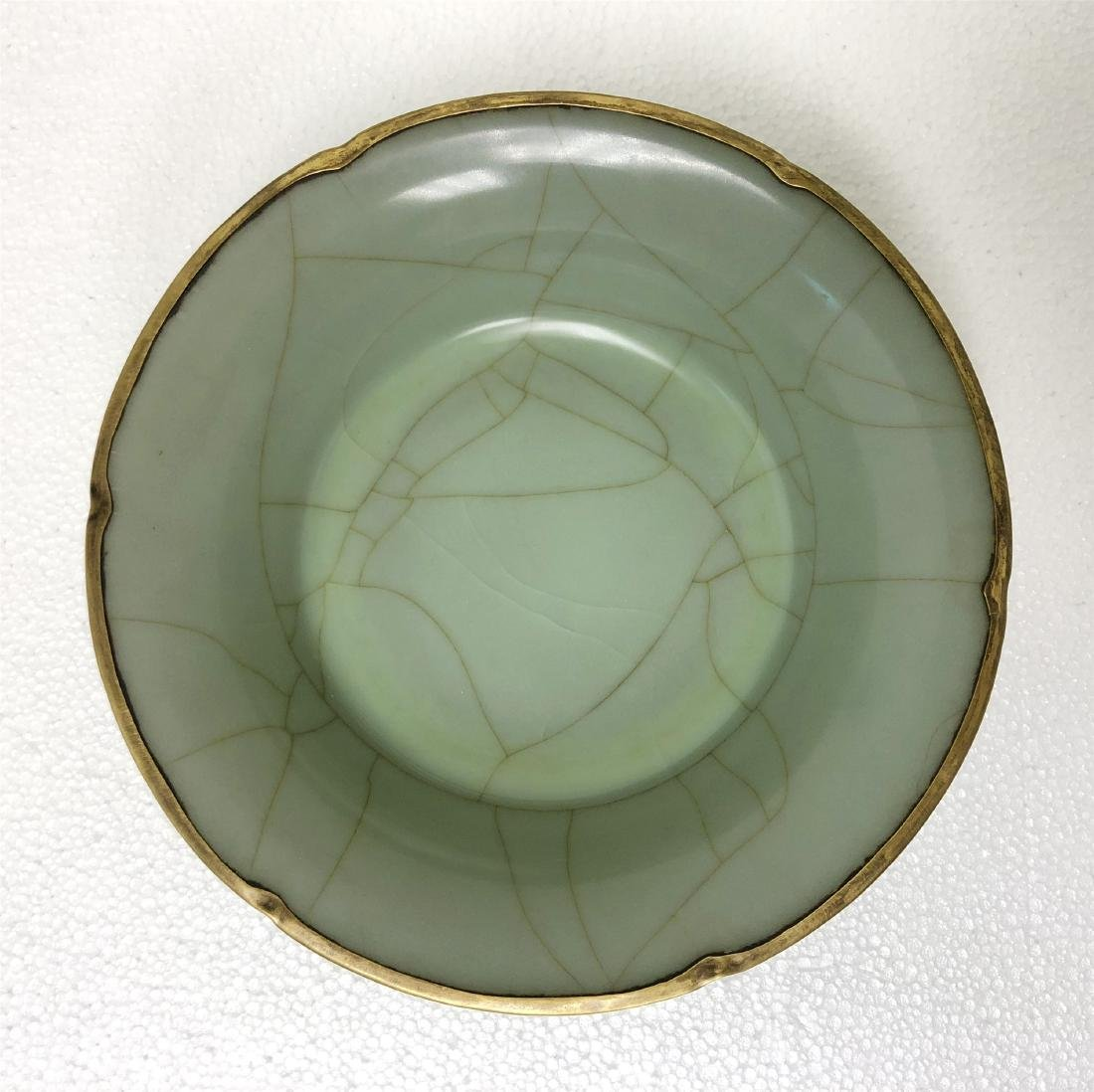 A Guan-Kiln bowl Southern Song Dynasty. - 4