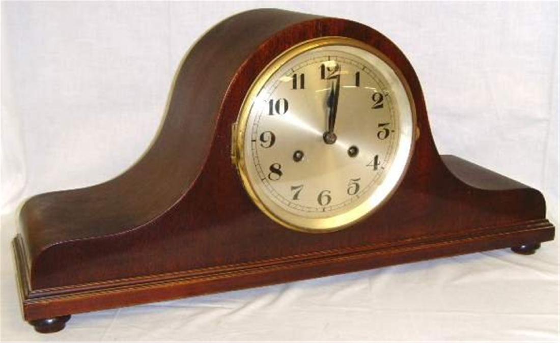Mahogany Mantle Clock.