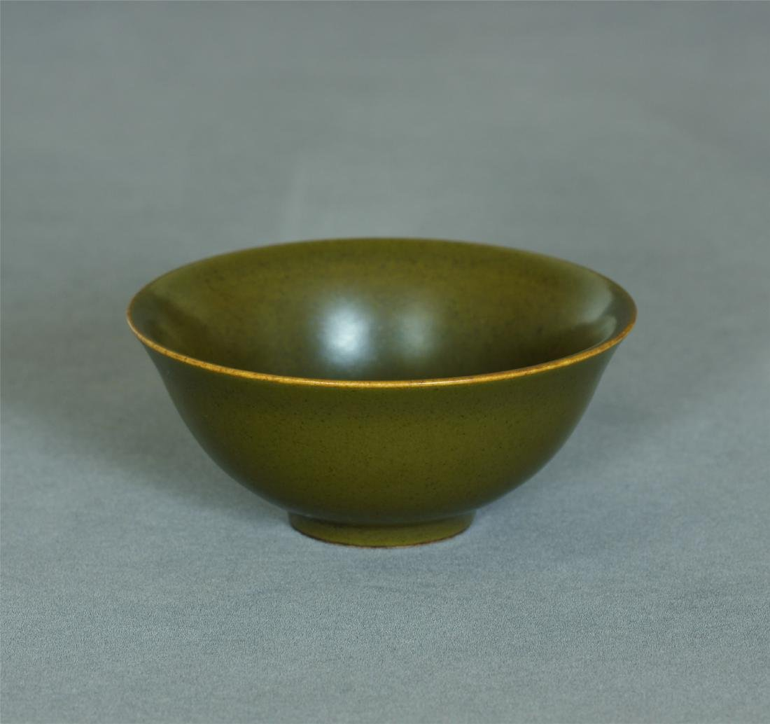 Tea glaze porcelain small bowl of Qing Dynasty QianLong - 10