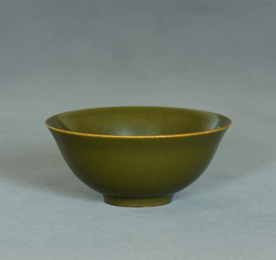 Tea glaze porcelain small bowl of Qing Dynasty QianLong - 7