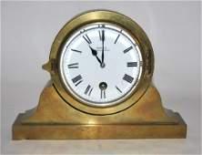 Brass Shelf Clock.