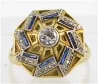 Signed Cozzolino Italian Designer Handmade 18k Gold