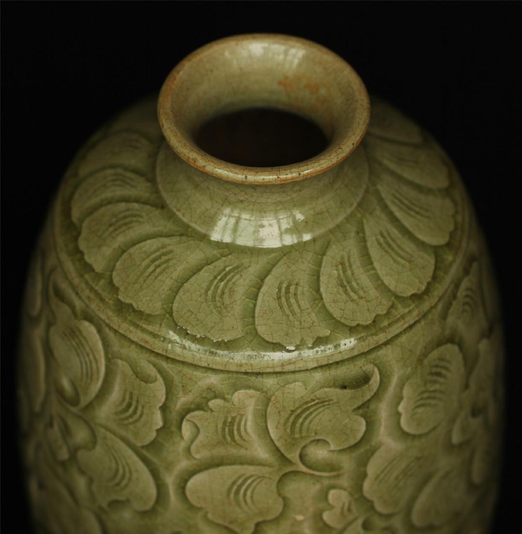 Chinese YaoZhou-Kiln porcelain vase of Ming Dynasty. - 6