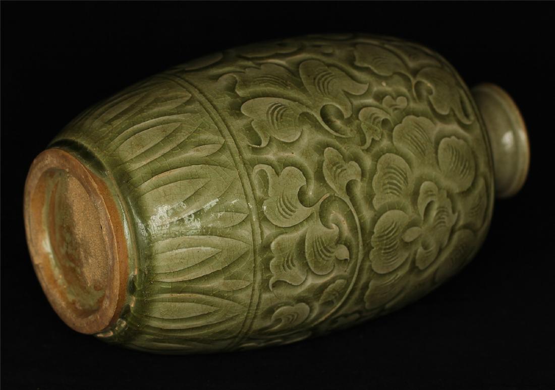 Chinese YaoZhou-Kiln porcelain vase of Ming Dynasty. - 8