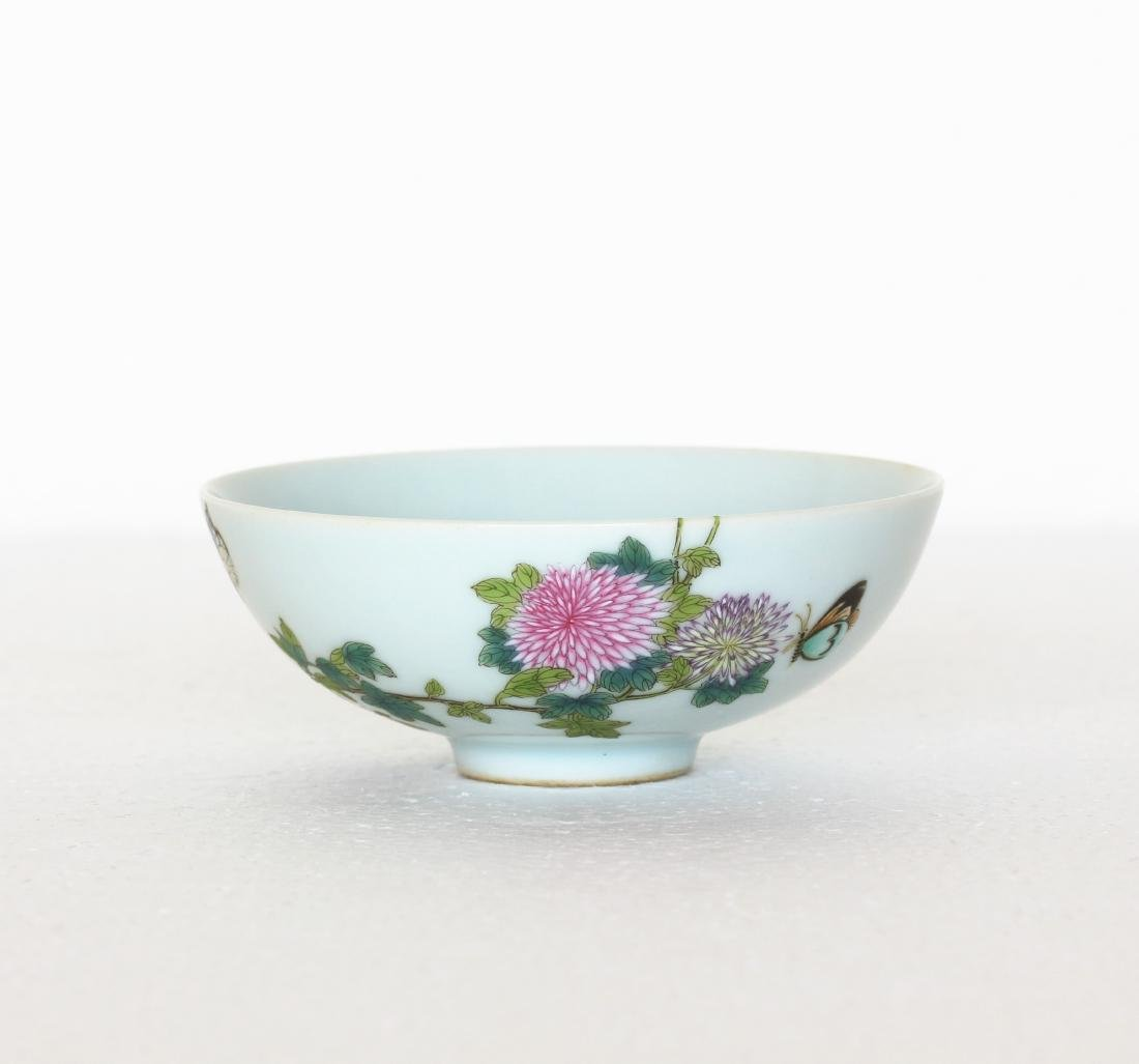 A Chinese Famille Rose Porcelain Small Bowl Qing