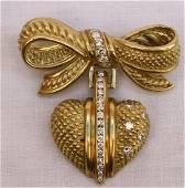 MAGNIFICENT JUDITH RIPKA 18K GOLD DIAMOND NECKLACE