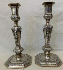 AN IMPORTANT Emile Puiforcat French 950 Silver Candle