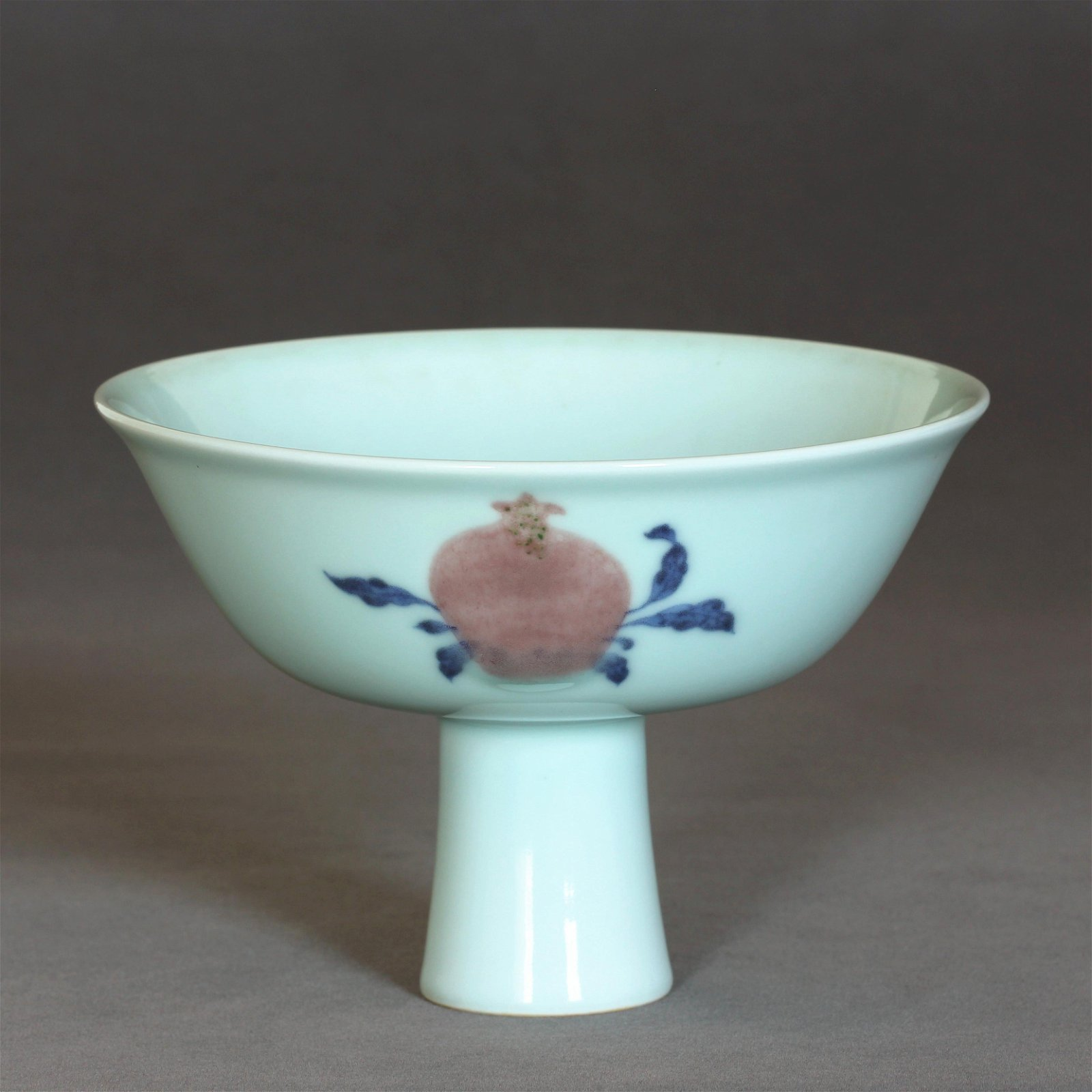 A Chinese Blue And White & Underglaze-Red Porcelain
