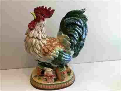 Fitz & Floyd Classics Mediterraneo Rooster Large