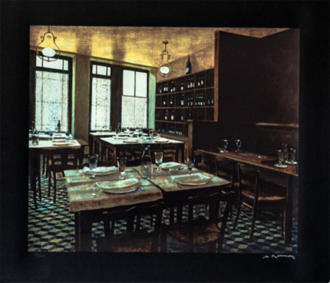 Andre Renoux - Interior Van Gogh