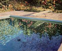Artist Unknown - Diving Pool (Painting)