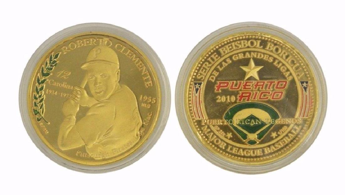 Roberto Clemente P.R. Baseball Challenge Coin