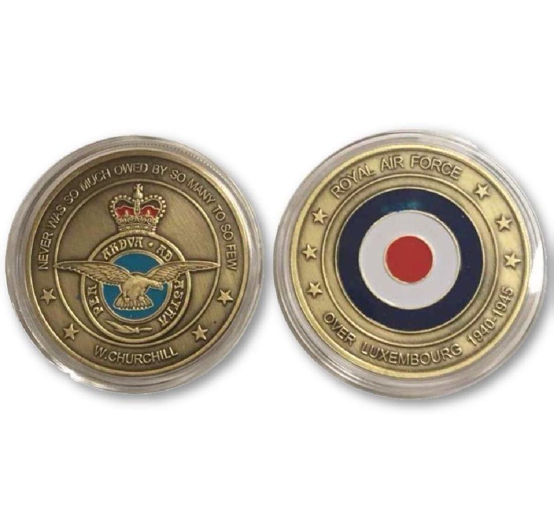 Winston Churchill Royal Air Force Challenge Coin