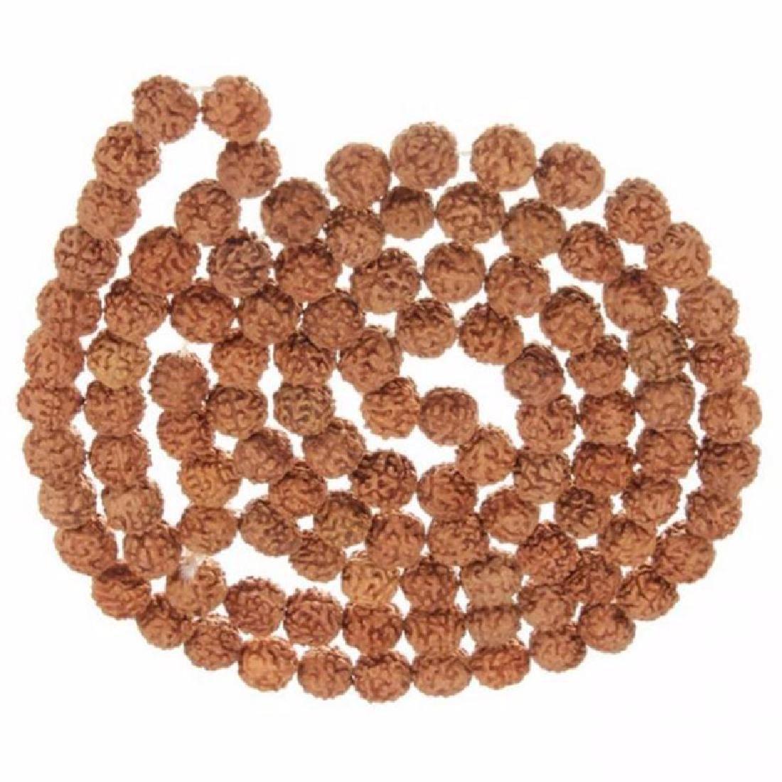 China Buddhist Wooden Beads Prayer Mala Bracelet