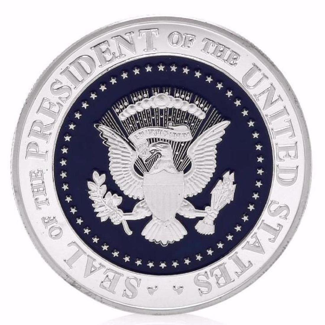 Donald Trump 45th President Silver Clad Coin - 2