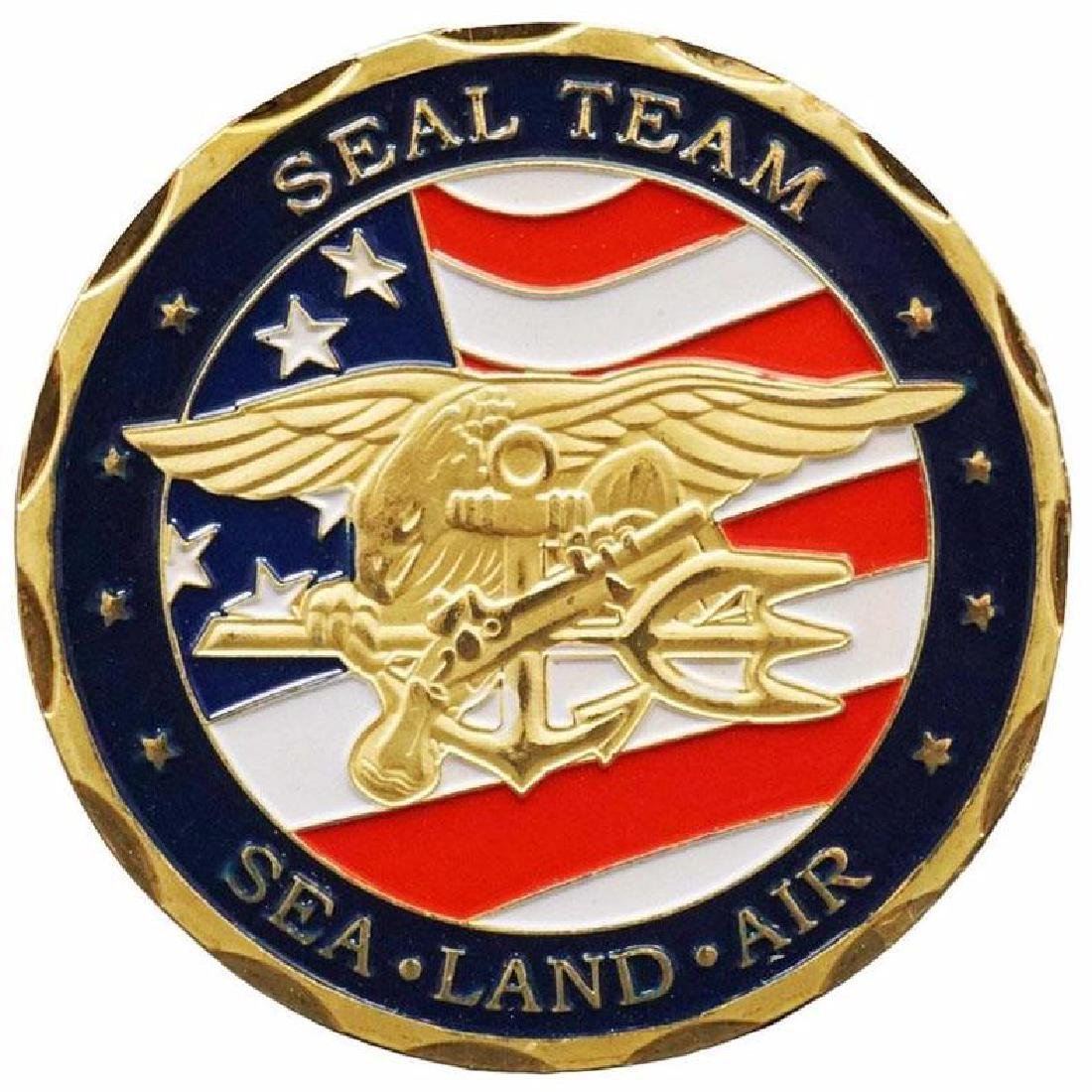 United States Navy Seal Military Challenge Coin