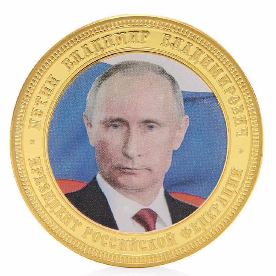 Crimea Russia Vladimir Putin Commemorative Coin