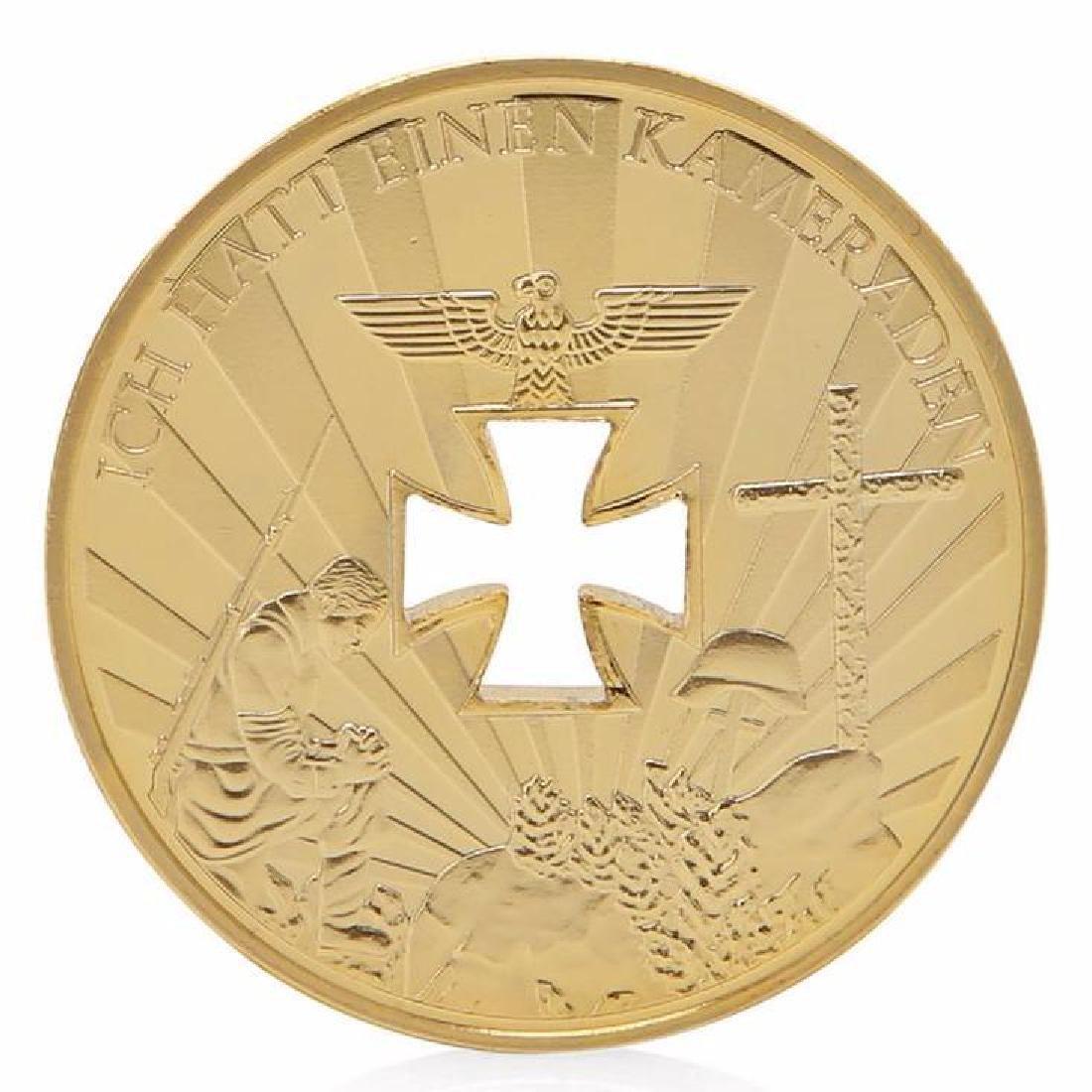 World War I & II Gold Clad Commemoration Coin