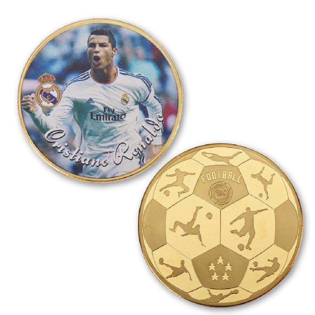 Cristiano Ronaldo 24K Gold Clad Collectible Coin