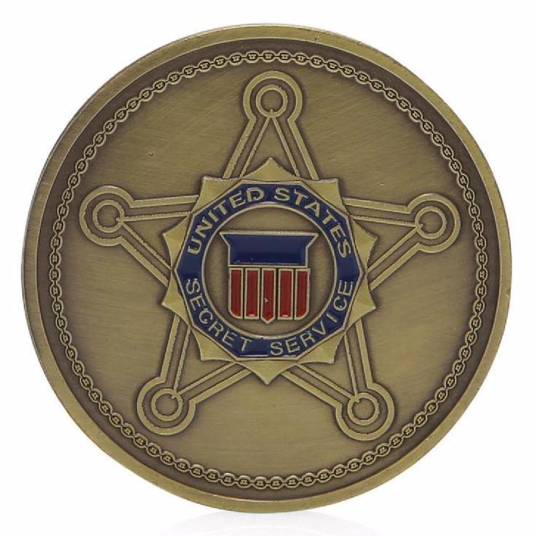 USA Secret Service Colored Challenge Coin