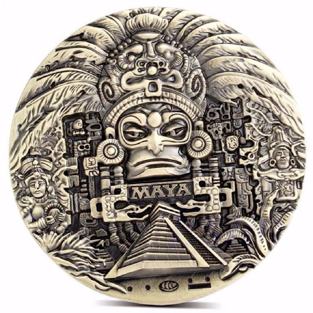 Big Mexico Mayan Calendar Collectible Coin