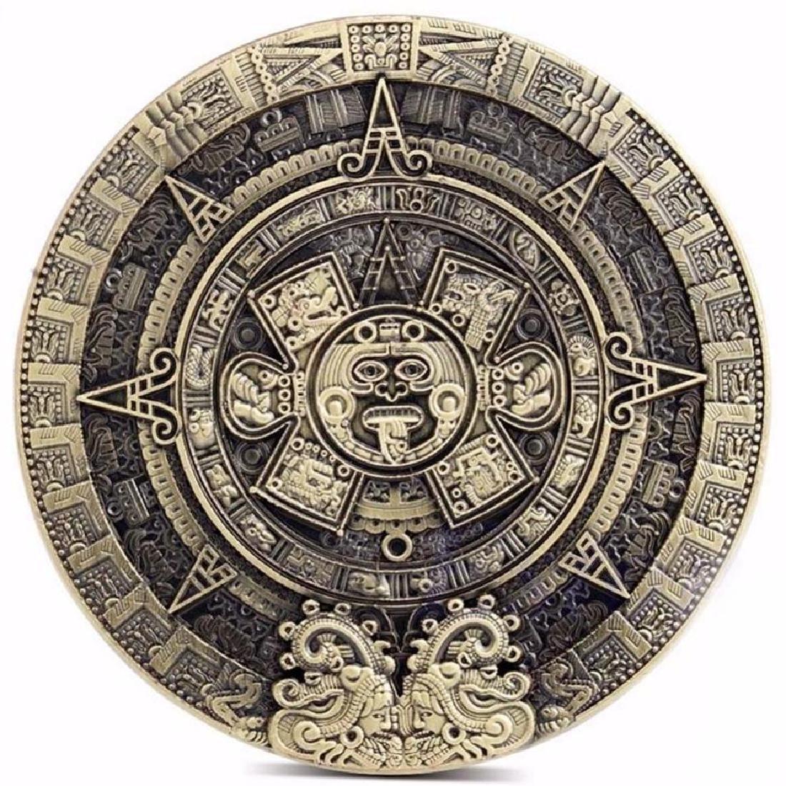 Big Mexico Mayan Calendar Collectible Coin - 2