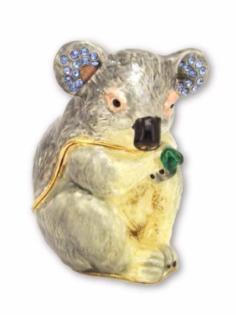 Colored Koala w/ Rhinestones