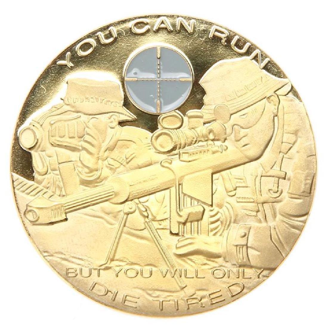 War Sniper Military Challenge Coin - 2