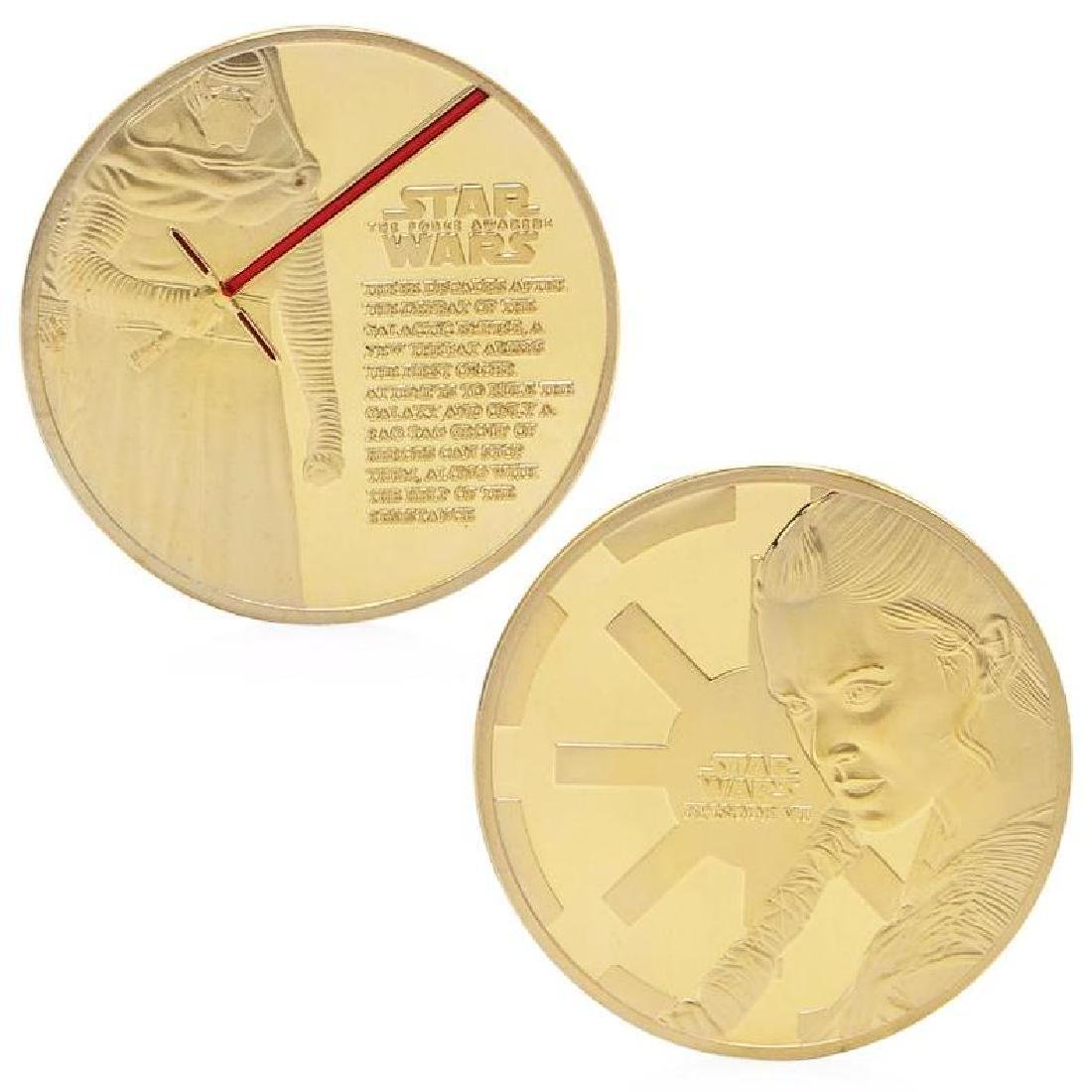 Star Wars Gold Clad Commemorative Coin