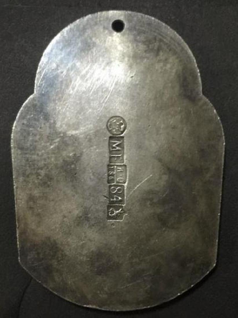 Christian Saint Metal Craft with Hallmarks - 2