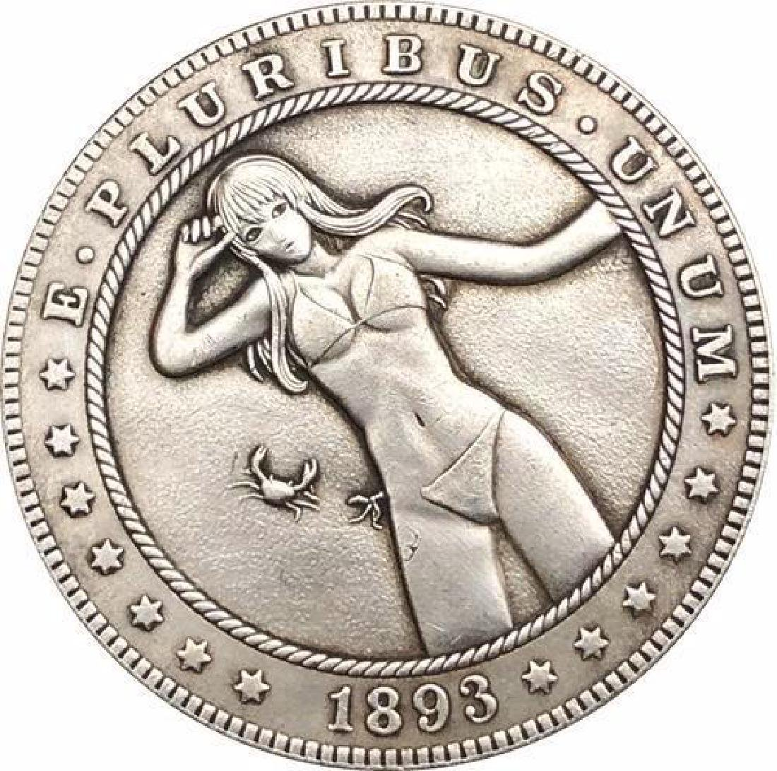 1893 USA Erotic Hentai #3 One Dollar Coin