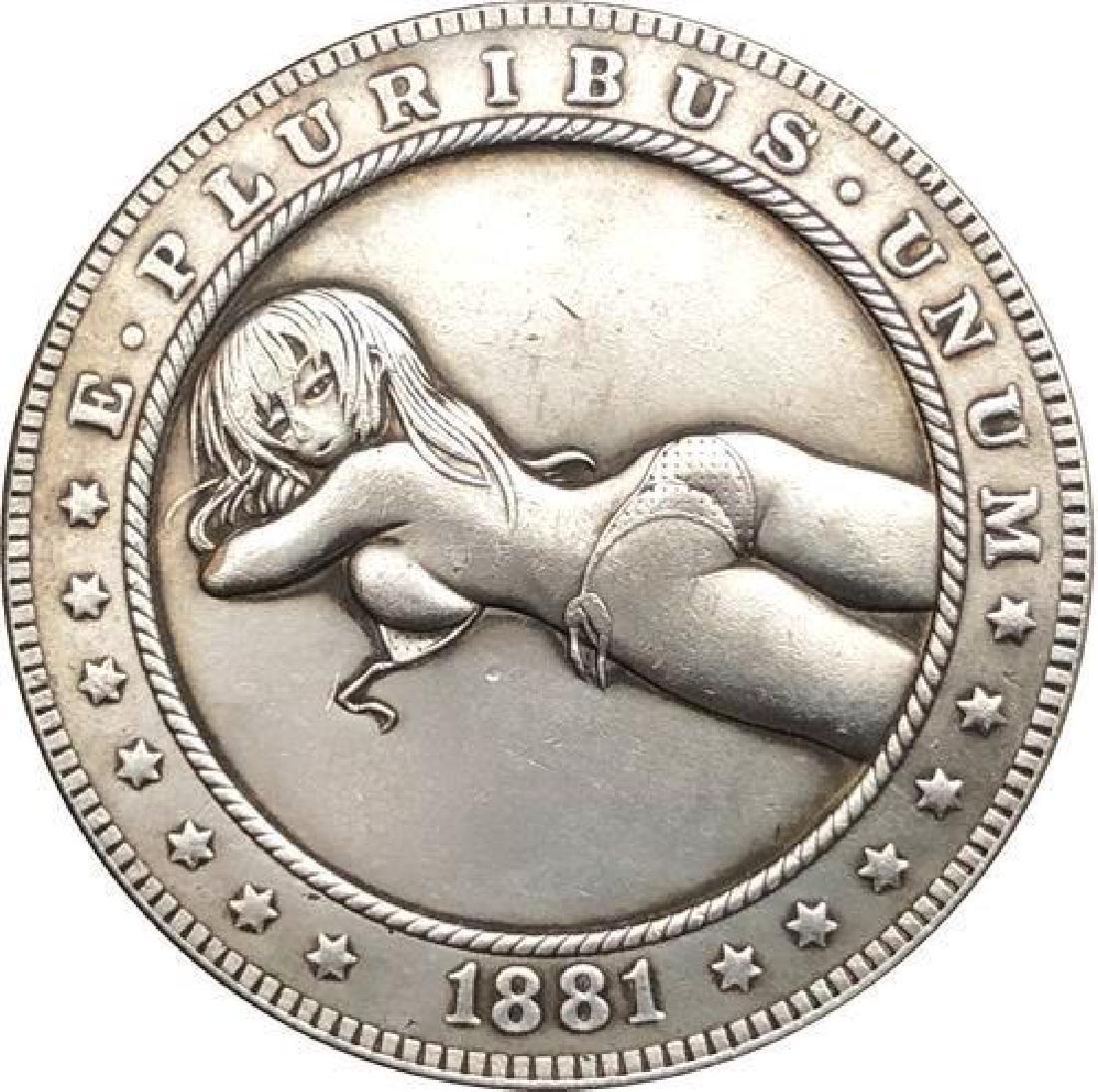 1881 USA Woman in Bikini #1 One Dollar Coin